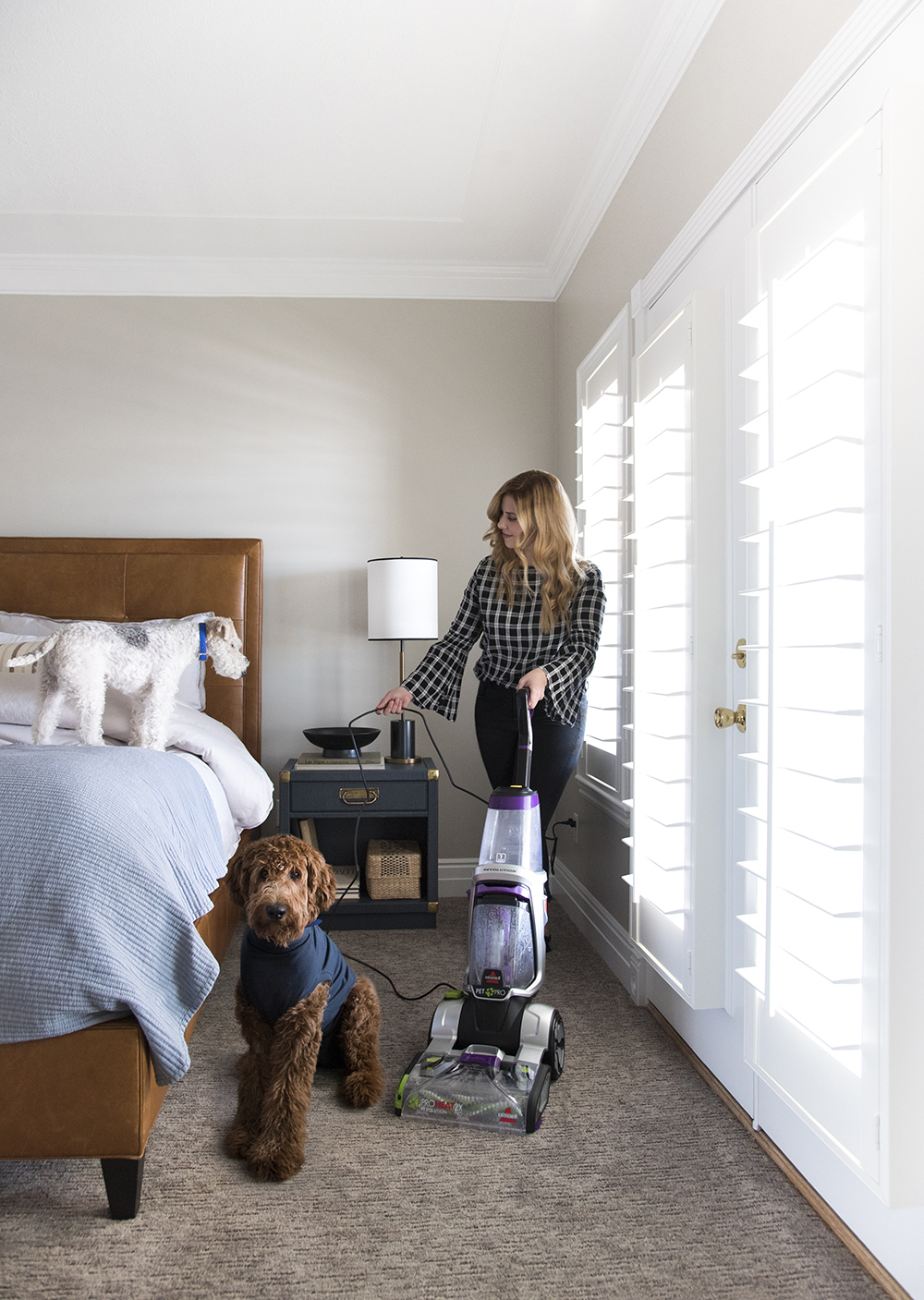 10 Tips for Helping Your Dog Through A Renovation or Remodel - roomfortuesday.com