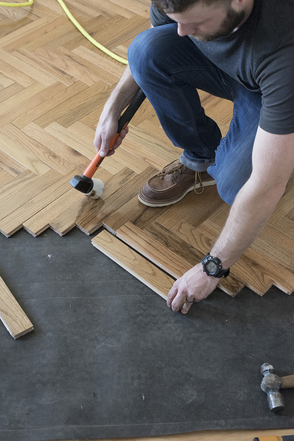How To Install Herringbone Hardwood Flooring Room For