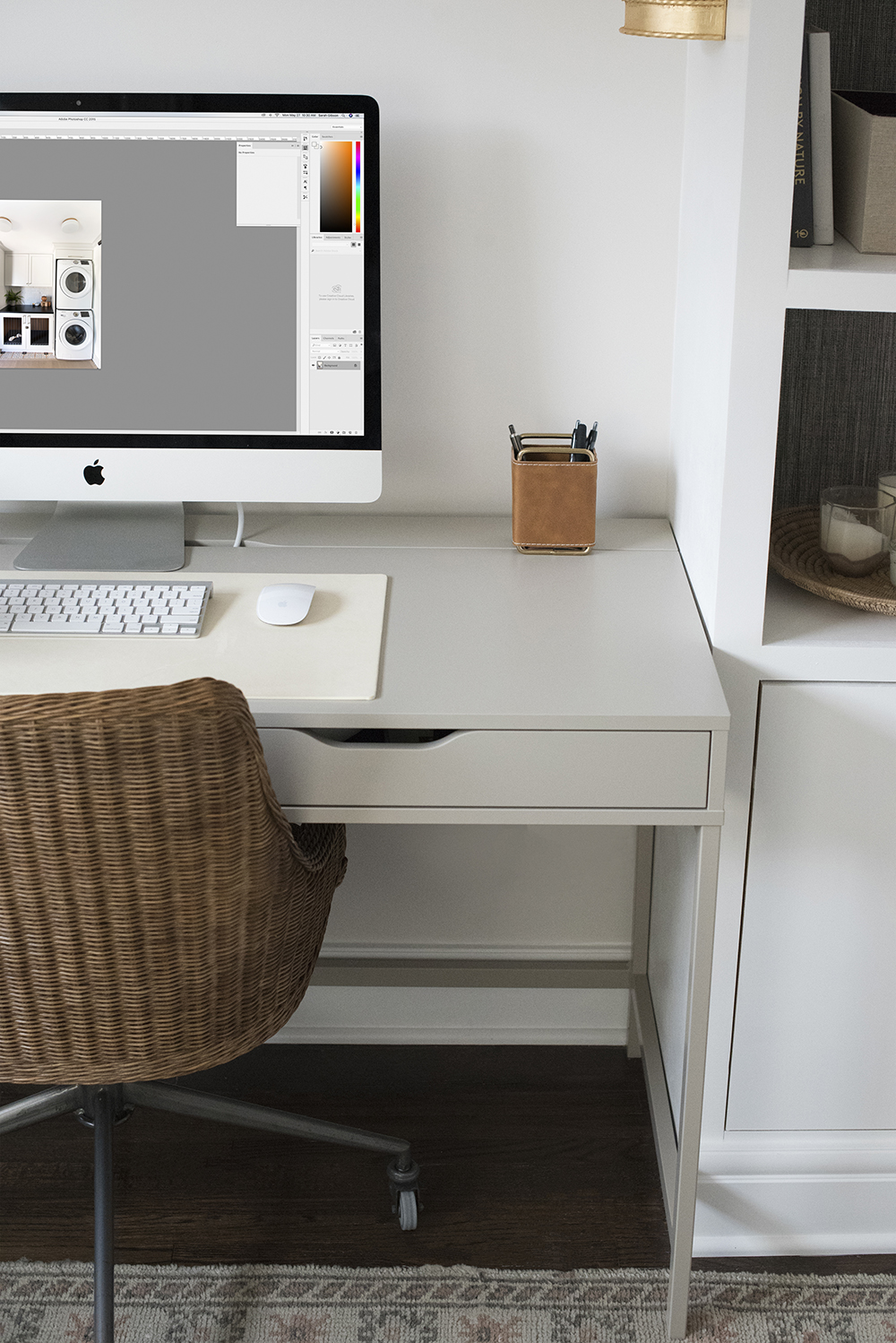 How I Edit Interior Photos in Photoshop - roomfortuesday.com