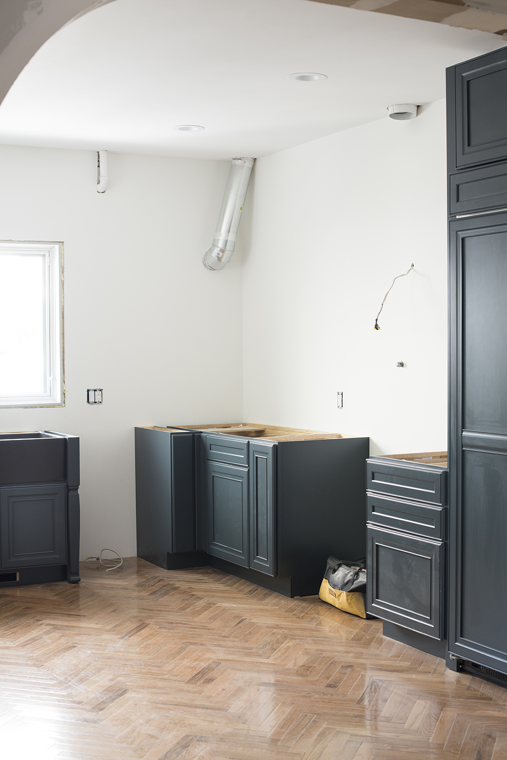 A Peek At Our Cabinetry Installation Process - roomfortuesday.com