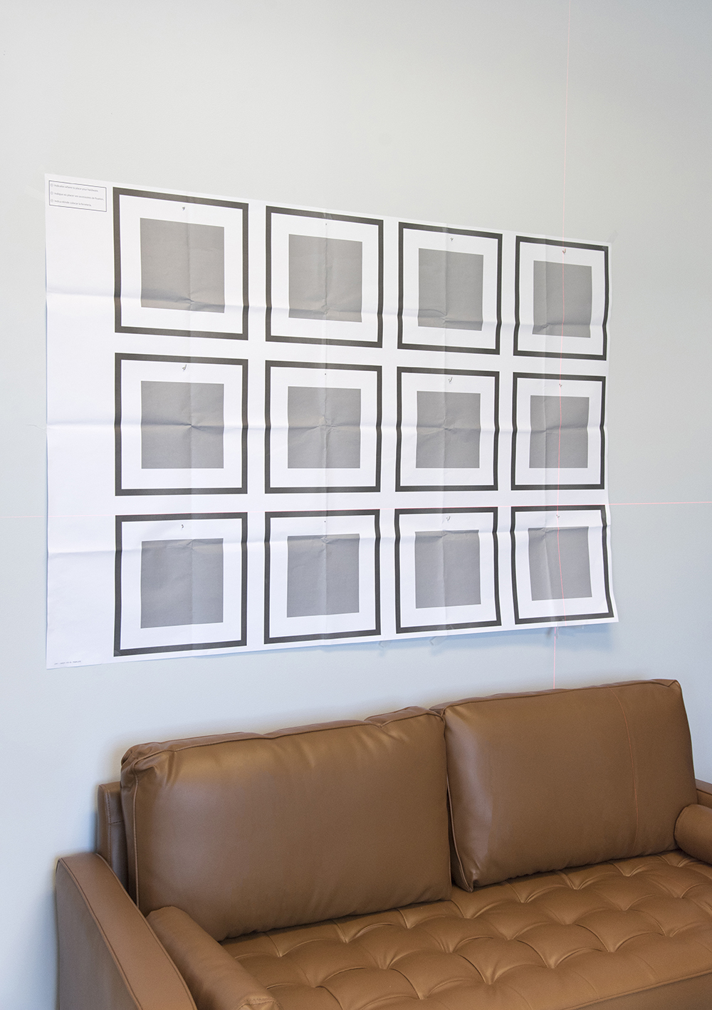 The Easiest Grid Gallery Wall - roomfortuesday.com