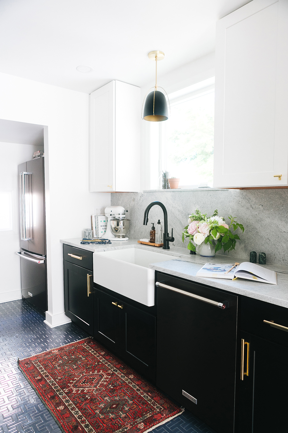 A Tiny Kitchen Reveal - roomfortuesday.com