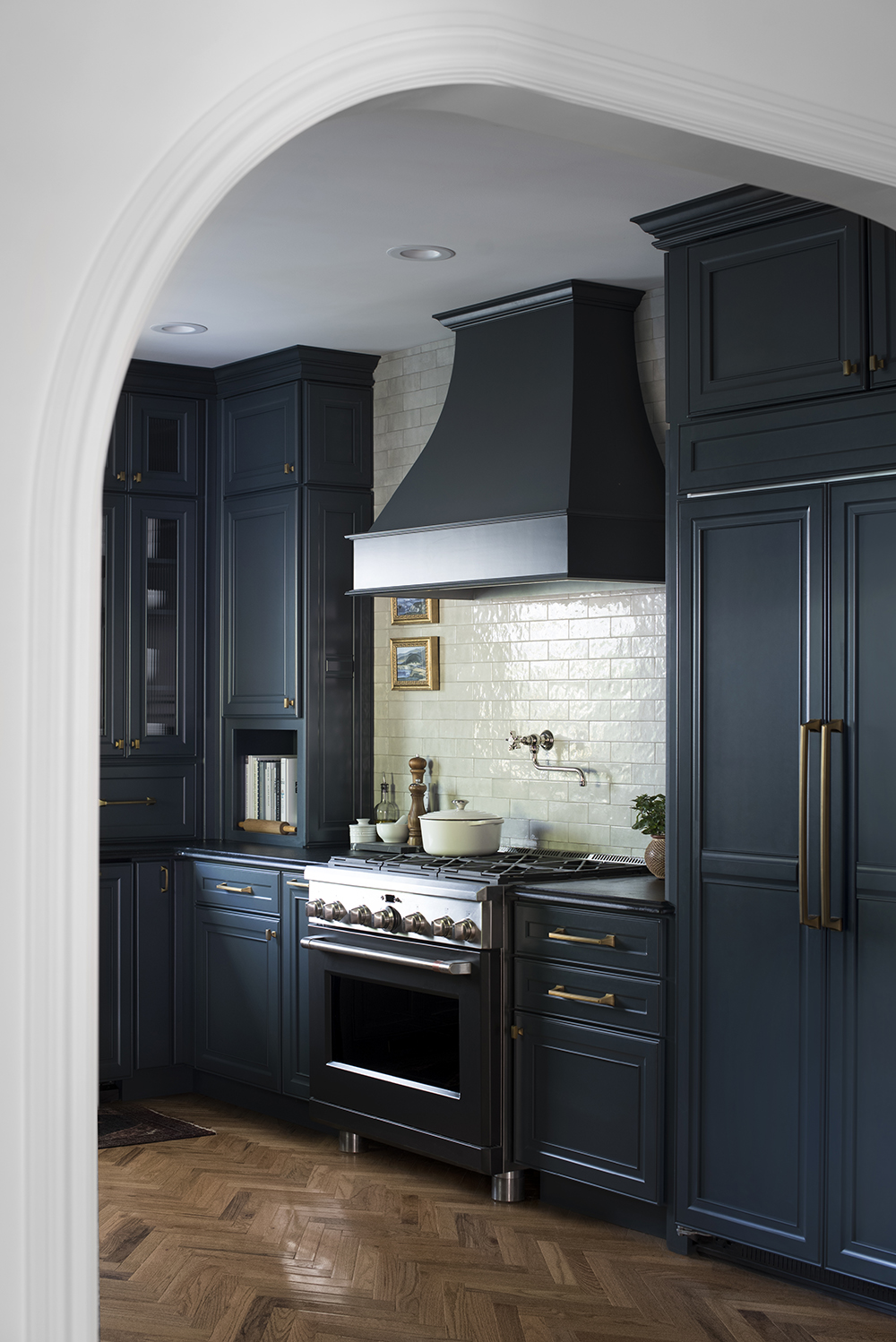 Our Dark Moody Kitchen Reveal Room For Tuesday