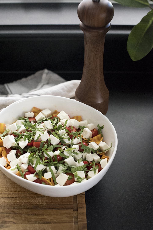 Caprese Pasta Salad - roomfortuesday.com