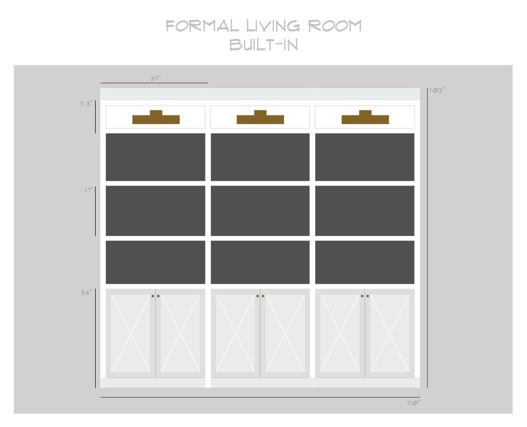 Formal Living Room : One Room Challenge – Week 2 - roomfortuesday.com