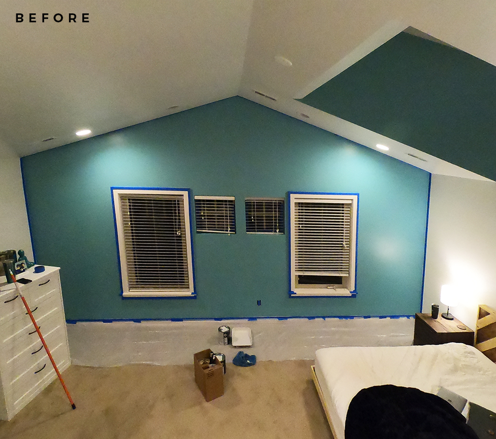 The Impact of Paint (Plus an Engagement Gift) - roomfortuesday.com