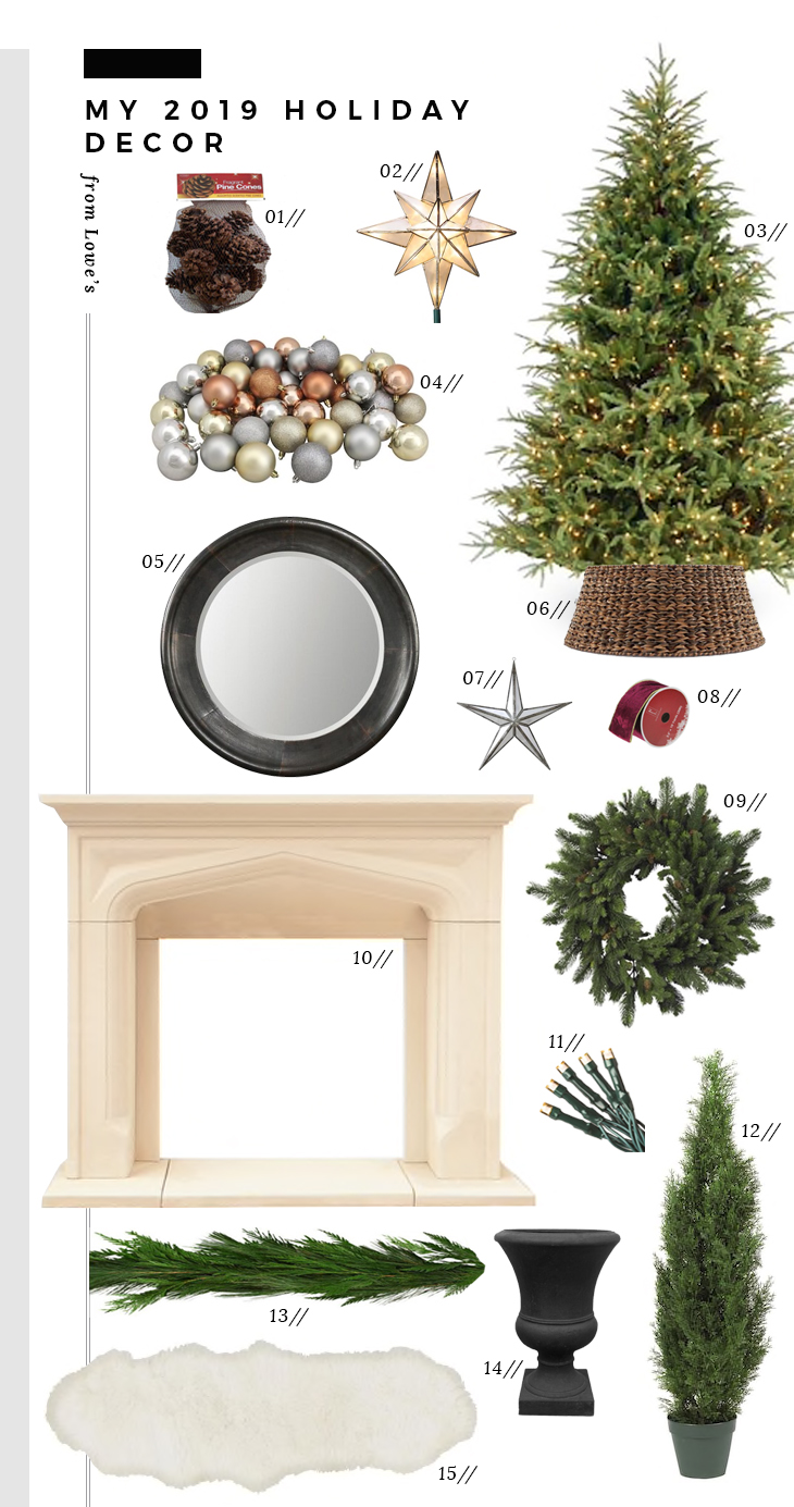 My 2019 Holiday Decor - roomfortuesday.com