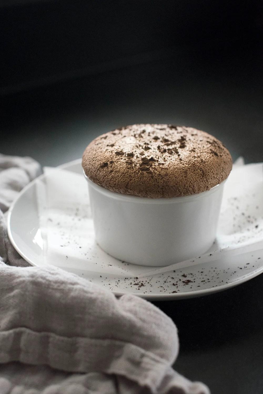 Chocolate Soufflé Recipe- roomfortuesday.com