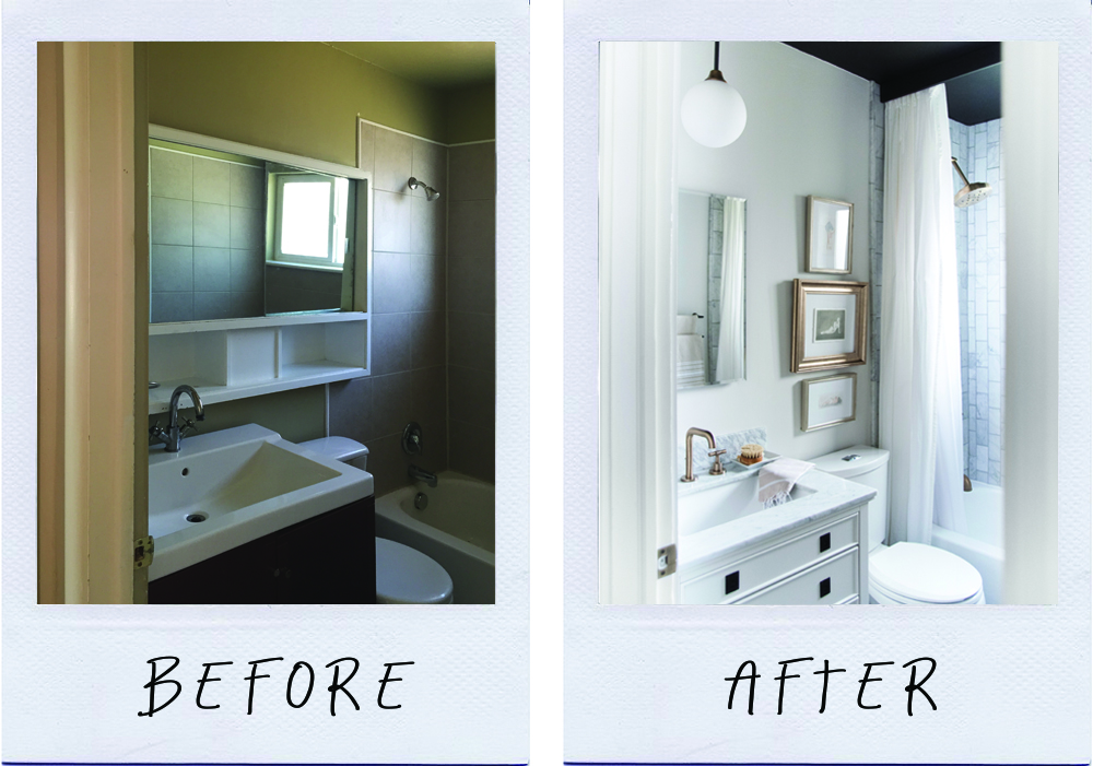 How to Make a Small Bathroom Look Larger - roomfortuesday.com