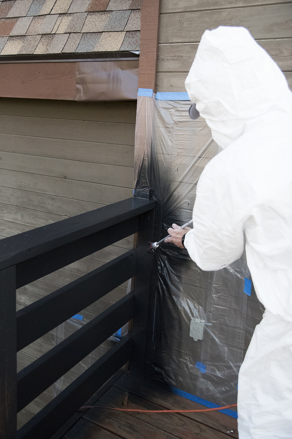 Exterior Deck Painting Tutorial - roomfortuesday.com