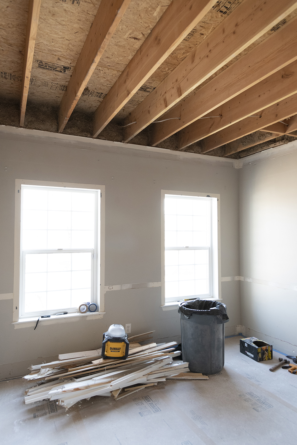Office Renovation Update (Demo & Planning) - roomfortuesday.com