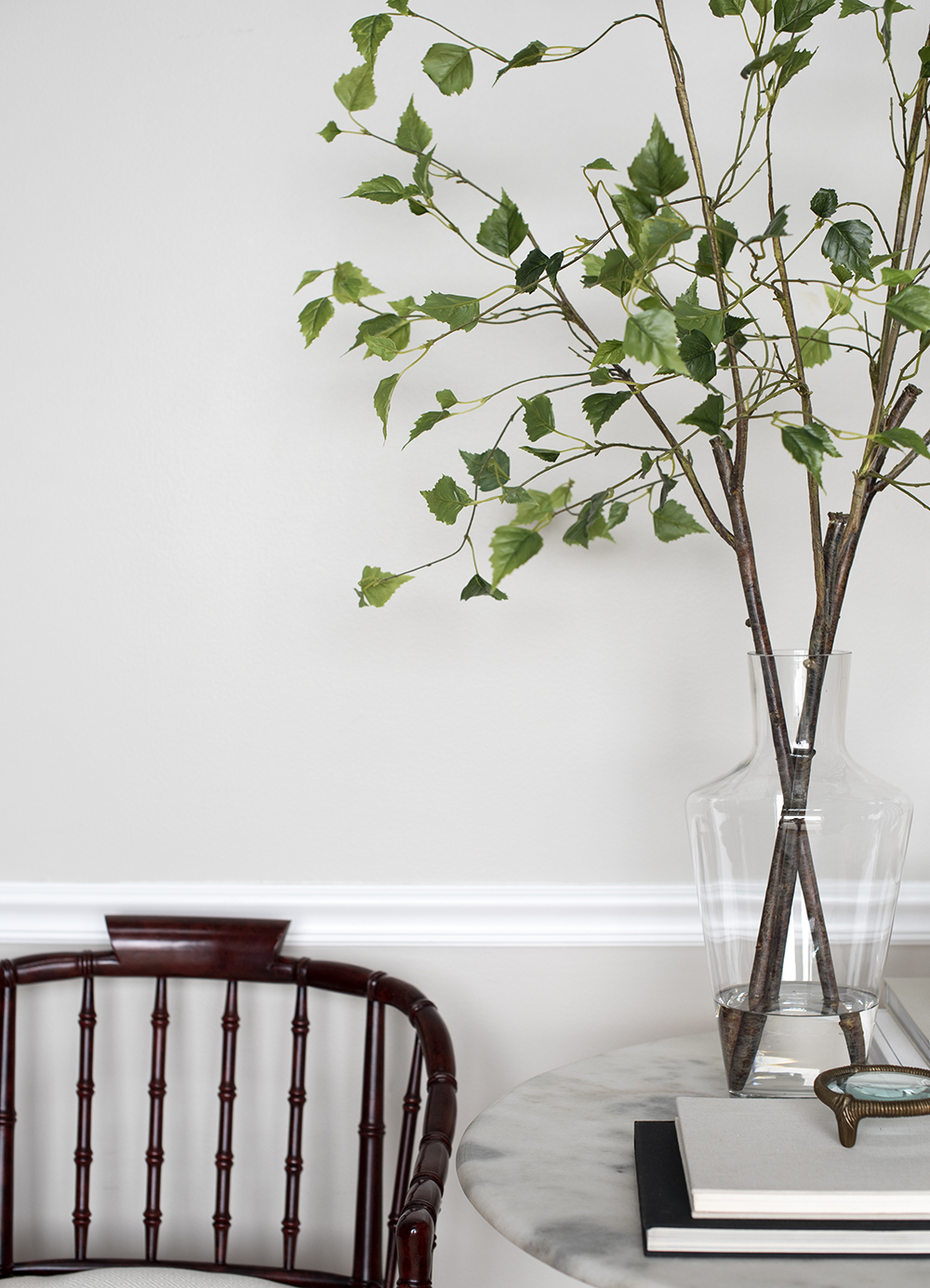 Tips for Using Faux Florals & Greenery - roomfortuesday.com
