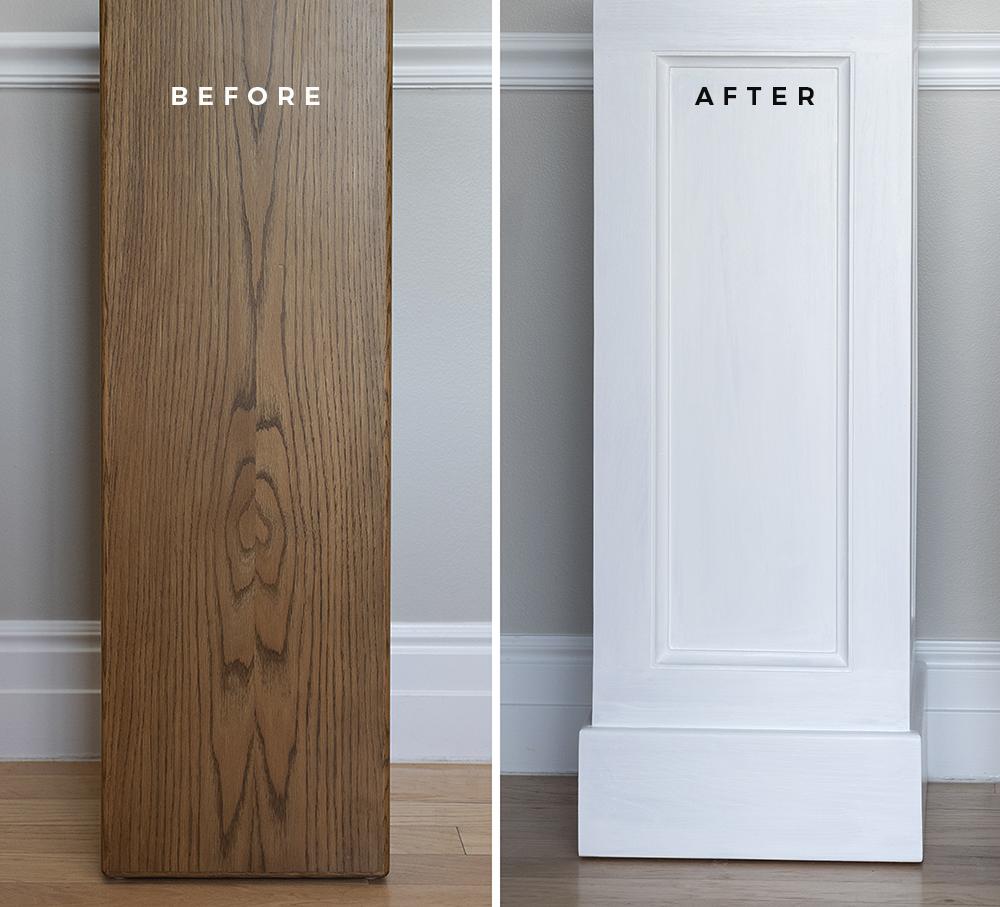 DIY makeover postolja - roomfortuesday.com