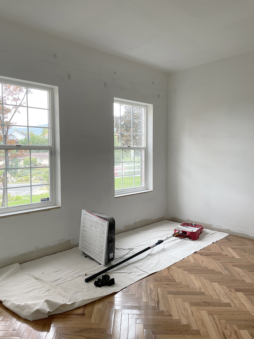 Office Renovation Update (Paint) - roomfortuesday.com