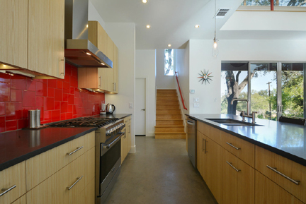 Modern Home Tour | Austin Interior Design by Room Fu ... on Modern Kitchen Backsplash With Maple Cabinets  id=22175