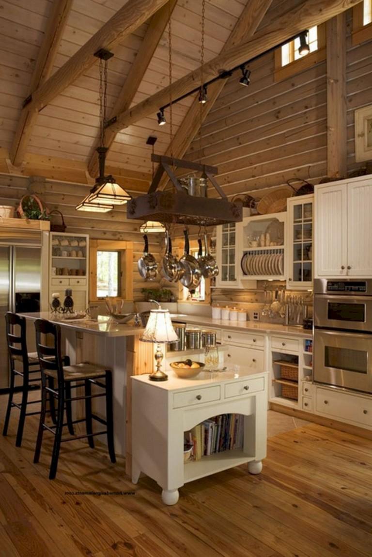 20+ brilliant Rustic Farmhouse Kitchen Island Ideas - Page ... on Rustic Farmhouse Kitchen  id=60310