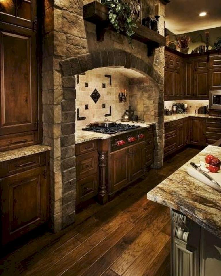 20+ brilliant Rustic Farmhouse Kitchen Island Ideas - Page ... on Rustic:yucvisfte_S= Farmhouse Kitchen Ideas  id=59907
