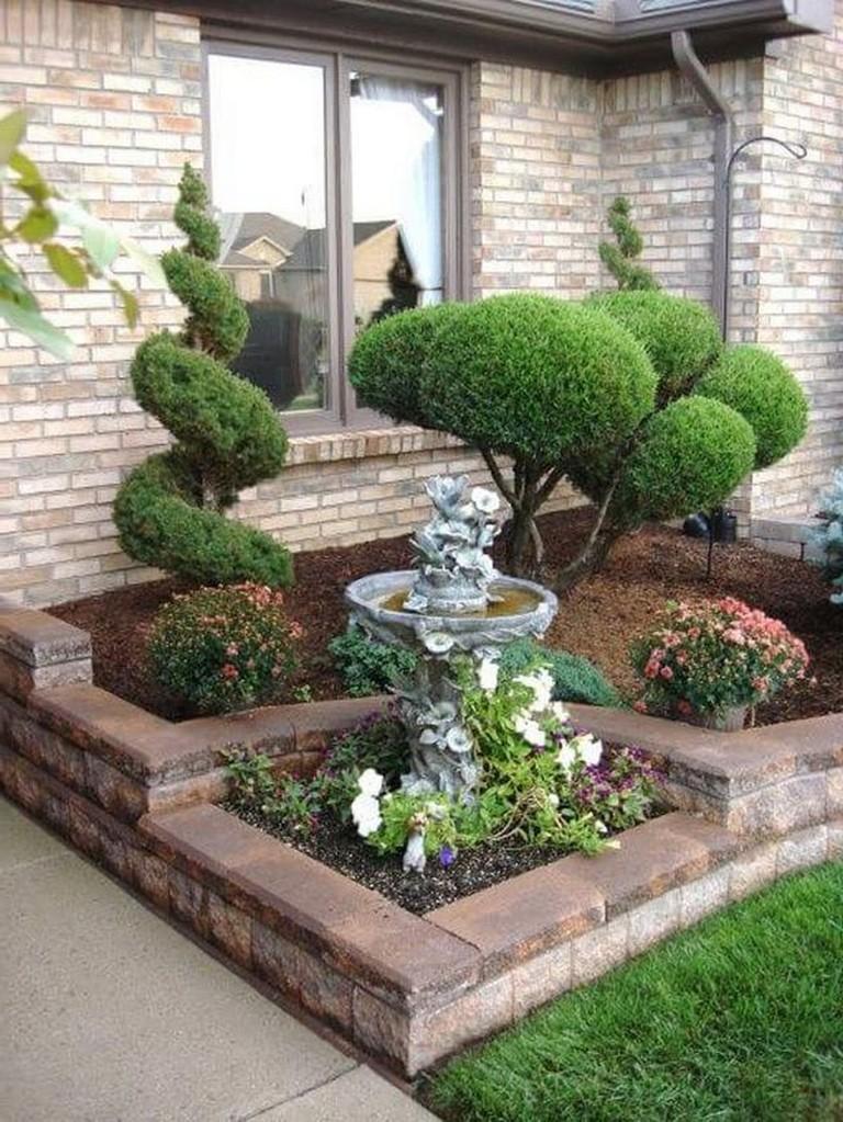50+ Fabulous Low Maintenance Front Yard Landscaping Ideas on Low Maintenance:cyizg0Gje0G= Backyard Design  id=14137