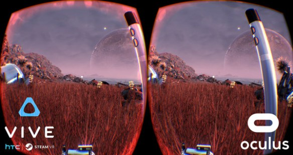 HTC / Oculus views for The Solus Project