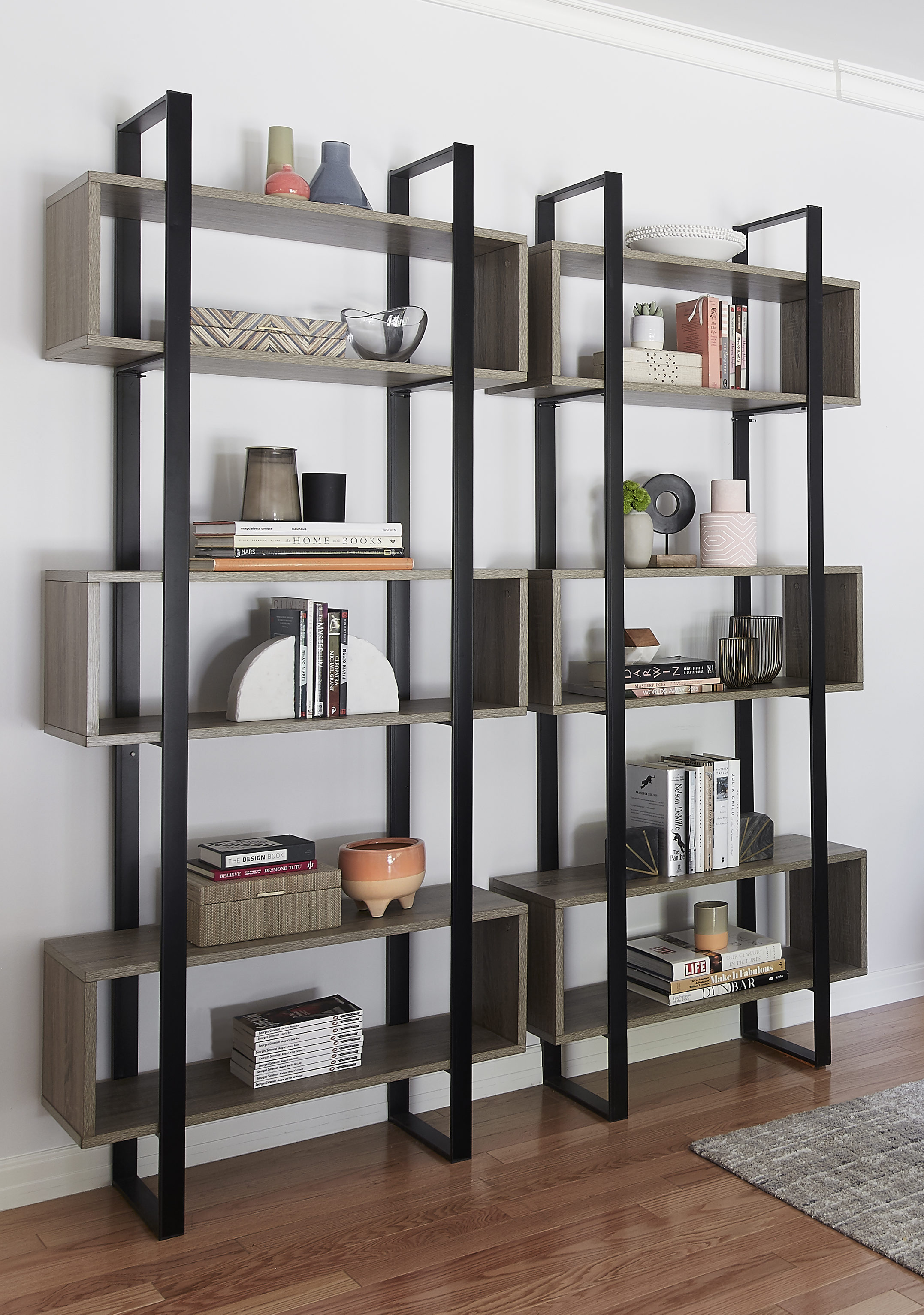 Modern Oak Bookshelf