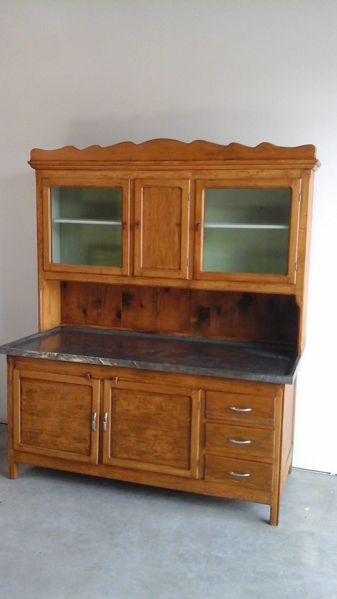 pine dry sink