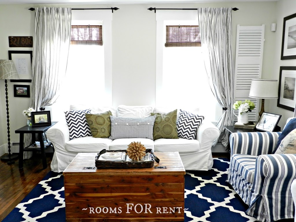 New Paint in the Living Room - Rooms For Rent blog