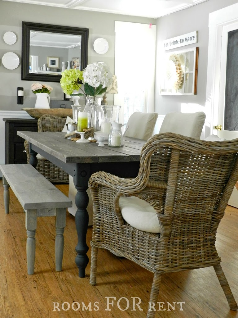 Room For Rent Design: Our New Farmhouse Dining Table