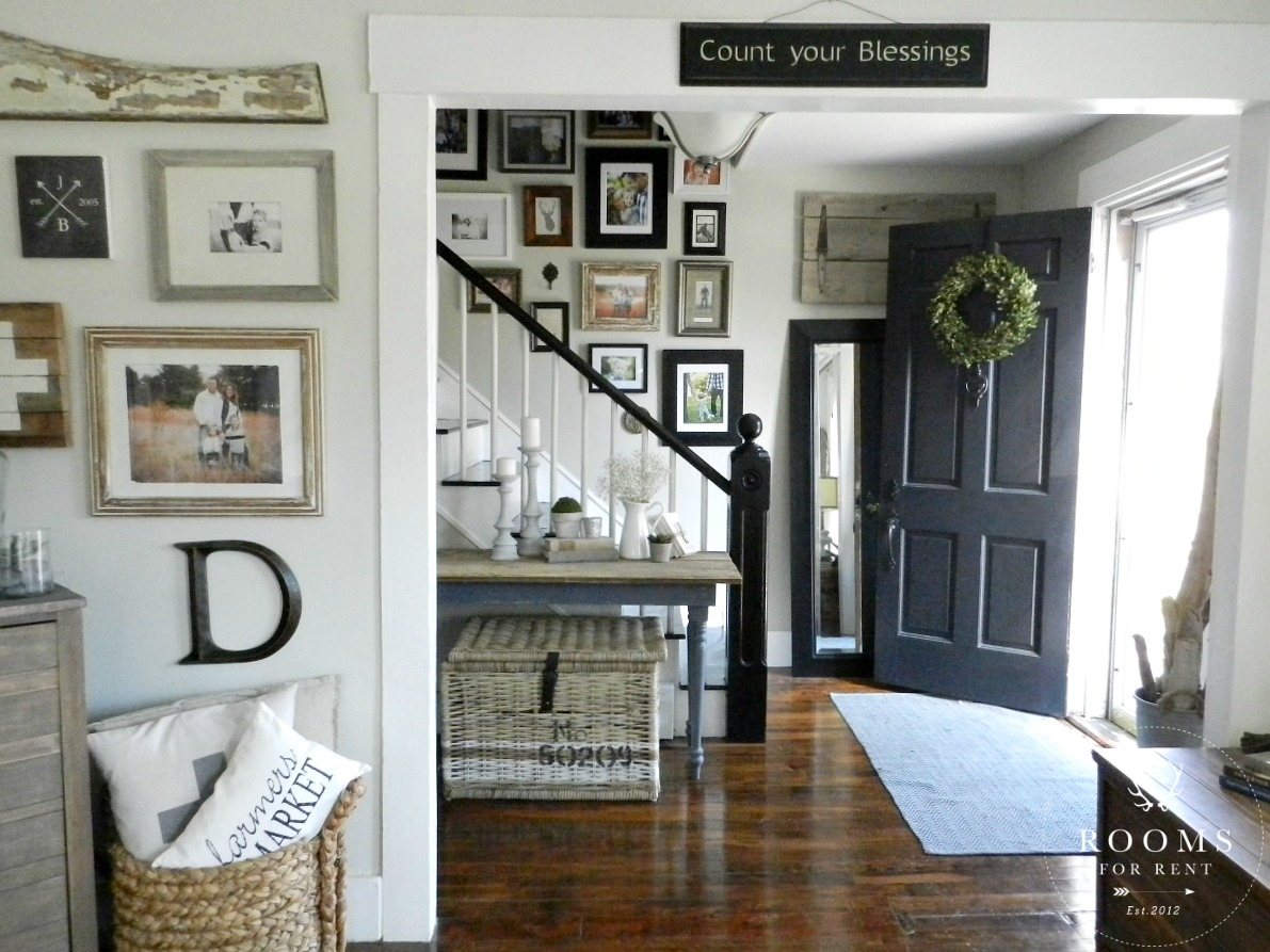 Farmhouse Style Gallery Wall - Rooms For Rent blog