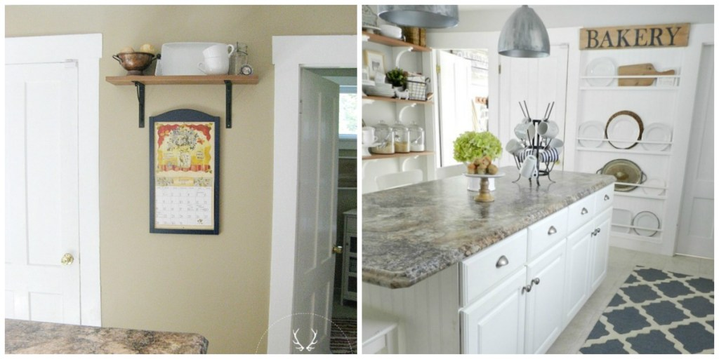 Plate Rack Wall Makeover | Rooms FOR Rent Blog