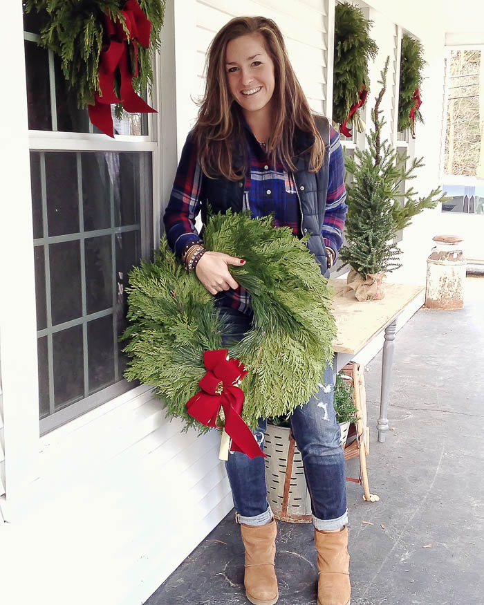 Christmas Porch Decorating | Rooms FOR Rent Blog