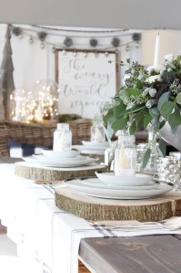 Festive Christmas Tablescape