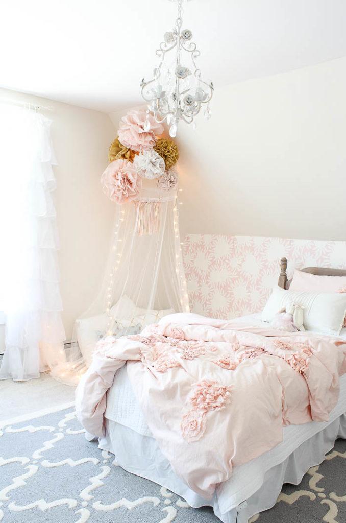 Vintage little Girls Room Reveal - Rooms For Rent blog on Girls Room Decoration  id=61715