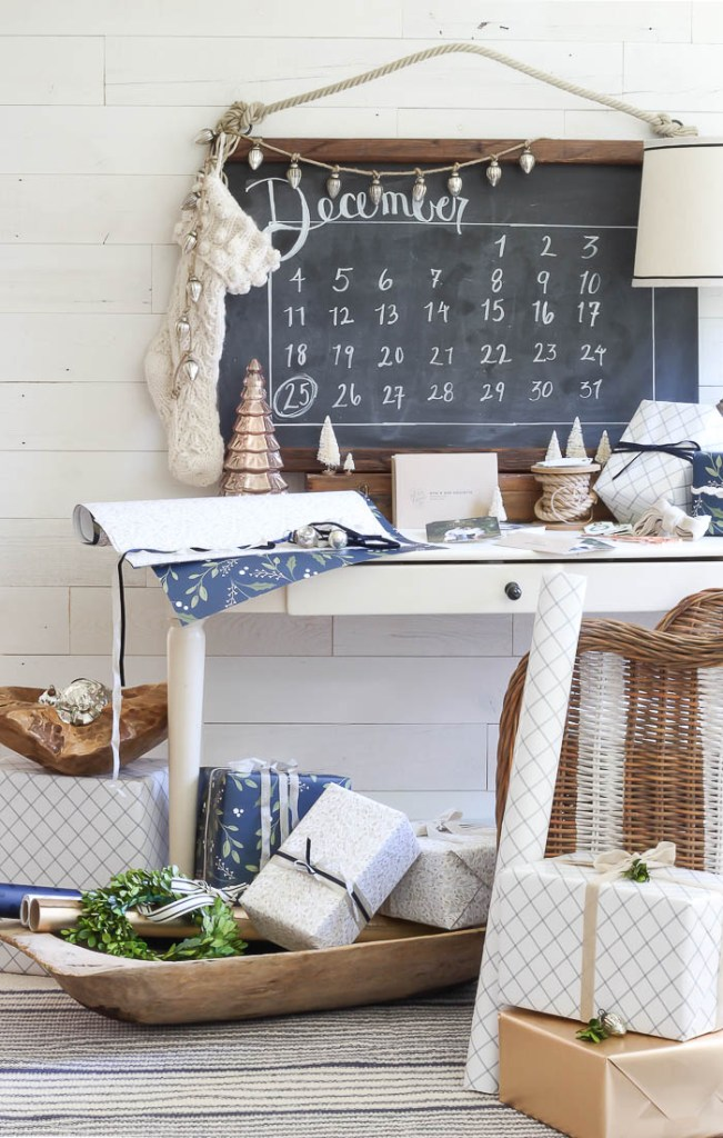 Christmas Wrapping Station | Rooms FOR Rent Blog