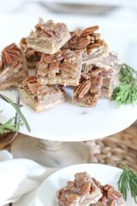 Pecan Pie Bars   Holiday Recipe