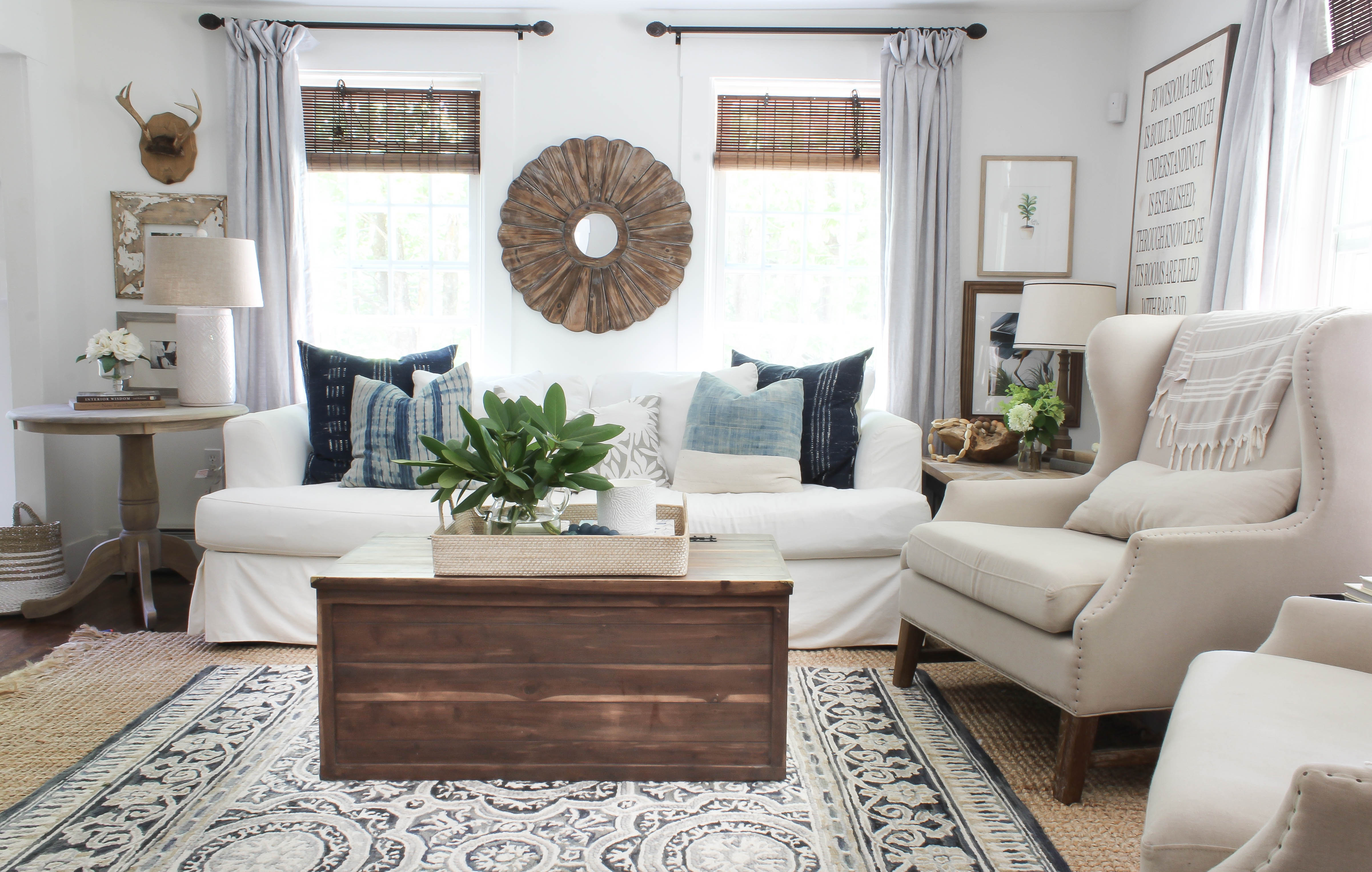 Living Room Sources for 2017 - Rooms For Rent blog on Curtains For Farmhouse Living Room  id=81739