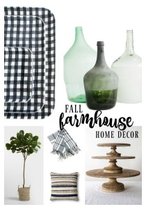 Fall Home Decor I'm Loving