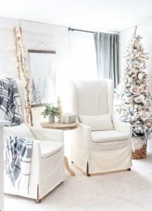 Christmas Bedroom Sitting Area
