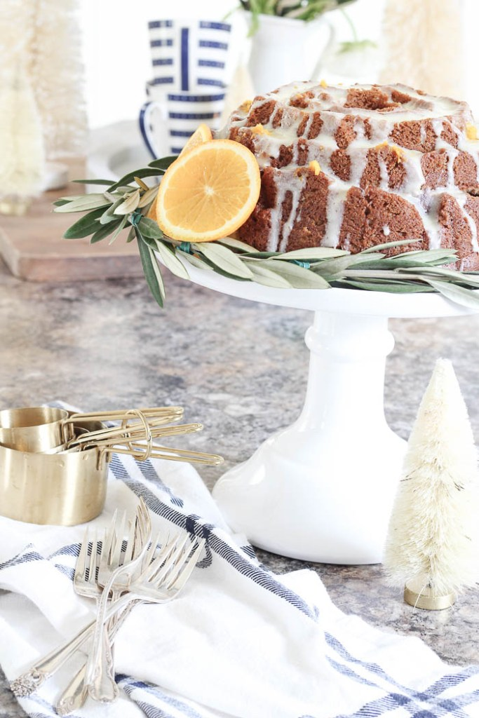 Gingerbread Cake + Orange Glaze | Rooms FOR Rent Blog