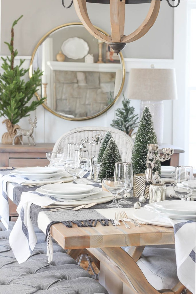 Casual Christmas Tablescape | Rooms FOR Rent Blog