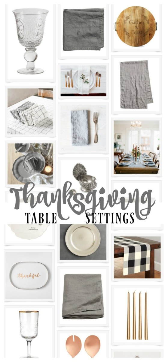 Thanksgiving Table Staples
