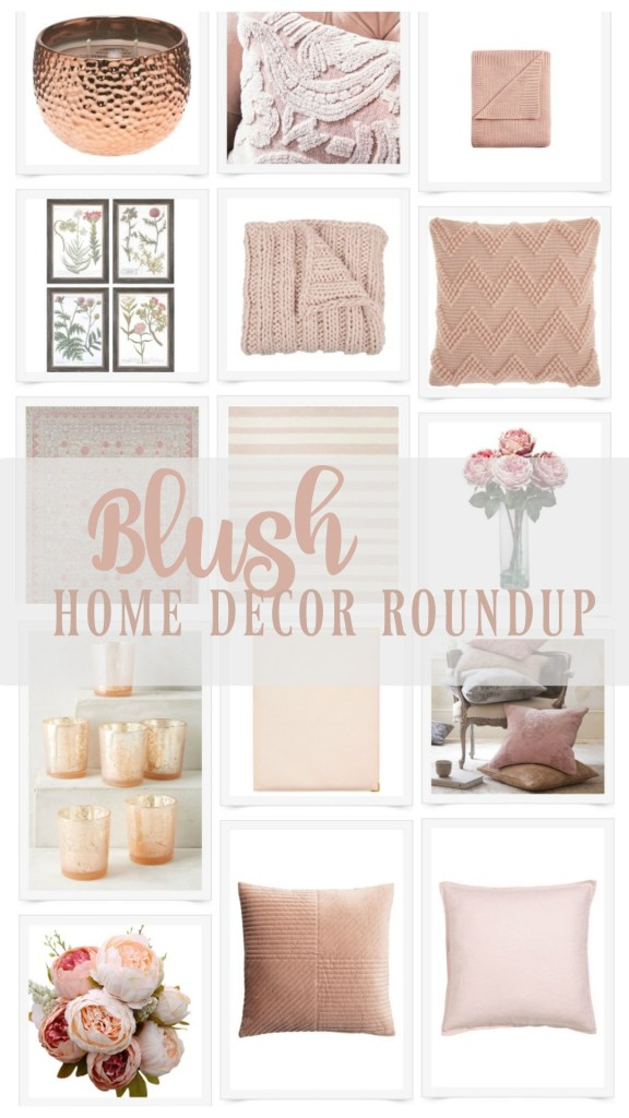 Blush Home Decor Accessories | Rooms FOR Rent Blog