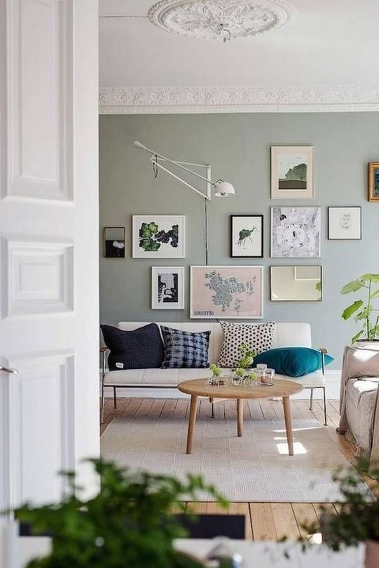 45+ Creative Living Room Wall Gallery Design Ideas - Page ... on Creative Living Room Wall Decor Ideas  id=29033