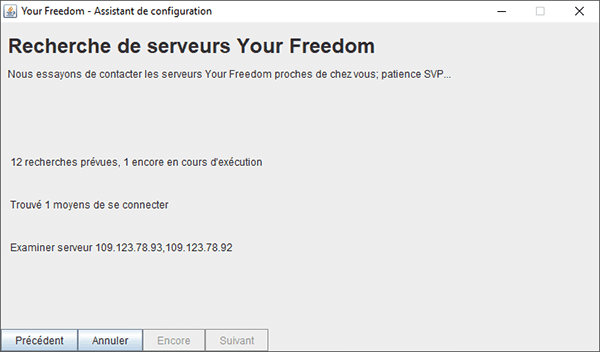 Your-Freedom_Configuration sur PC_5