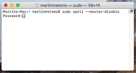 Comment désactiver GateKeeper sur MacOS_1