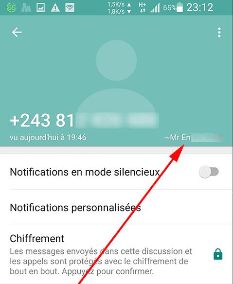 voici comment retrouver le nom d'un numéro inconnu sur Whatsapp_2