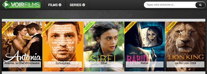 Voirfilms streaming gratuit sans compte