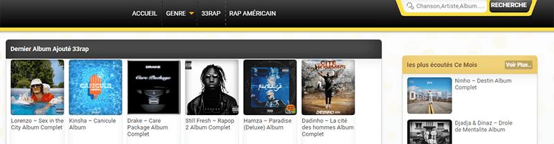 site pour télécharger musiques