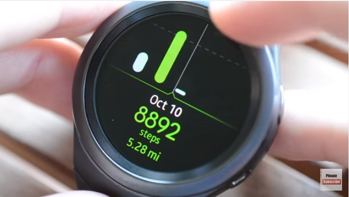 Gear S2 Fitness Tracking and Exercise 2