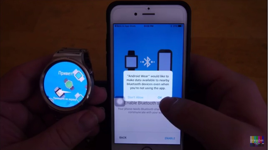 Huawei Watch iPhone 6S 5 Easy Step How to Connect and Setup 5