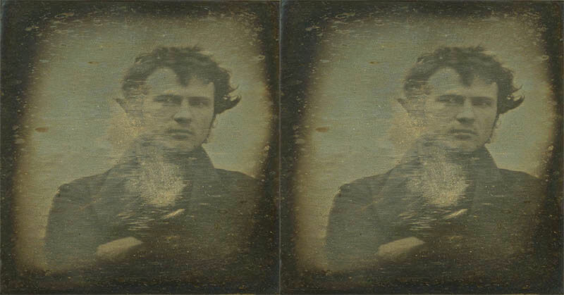 Robert Cornelius The First Person that Perform Selfie Photo